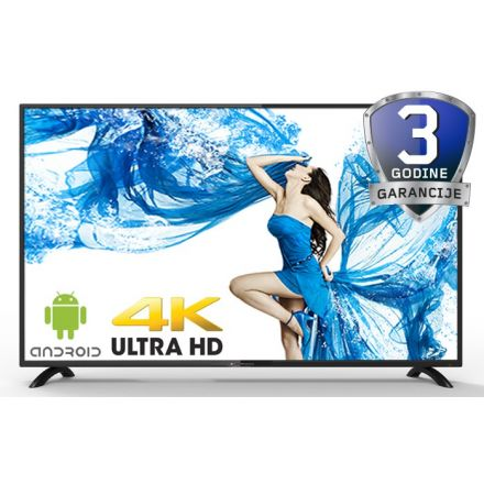 "Blueberry BLT50F1DSU 50"" 4K Smart Android TV"