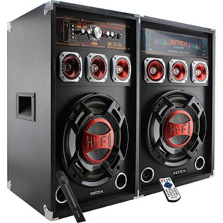 Polovno Intex DJ-215K FM/SD/USB/BLUETOOTH, 100W RMS