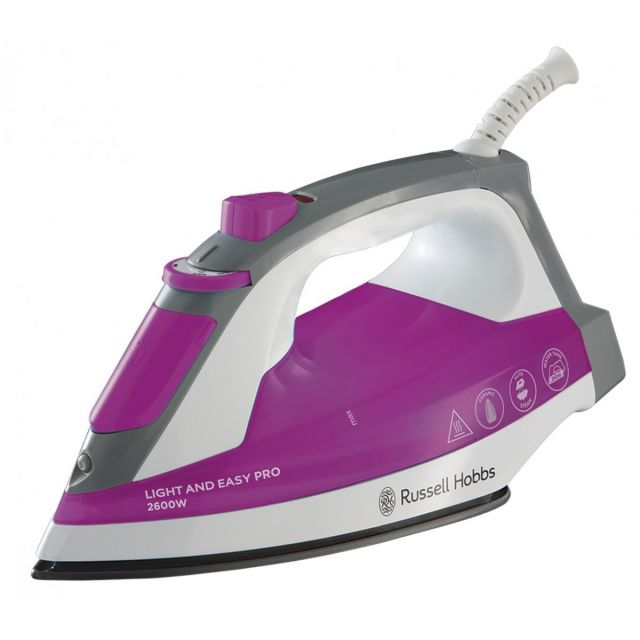 Russell Hobbs Light and Easy Pro, 2600W Pegla