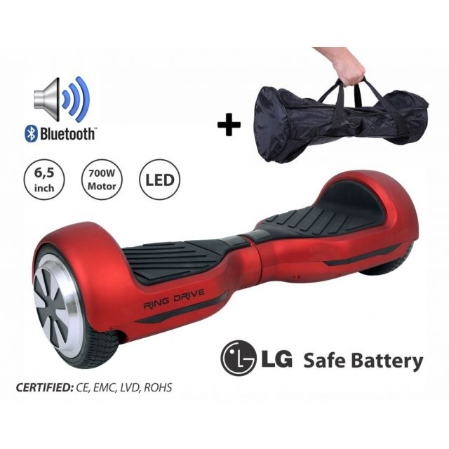 "Polovno RING Drive 2 , 6"" - crveni Hoverboard"